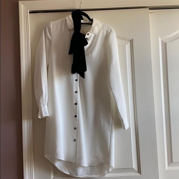 Kate Spade Velet Tie Griffin Dress